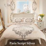 Paris Script Silver