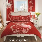 Paris Script Red