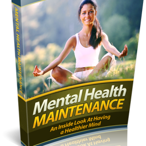 Mental Health Maintenance Be In Control