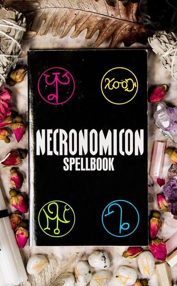 Occult Necronomicon Spell Book