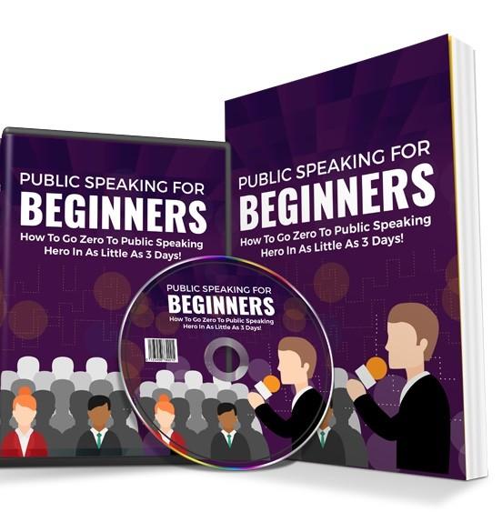 Public speaking newbies guide