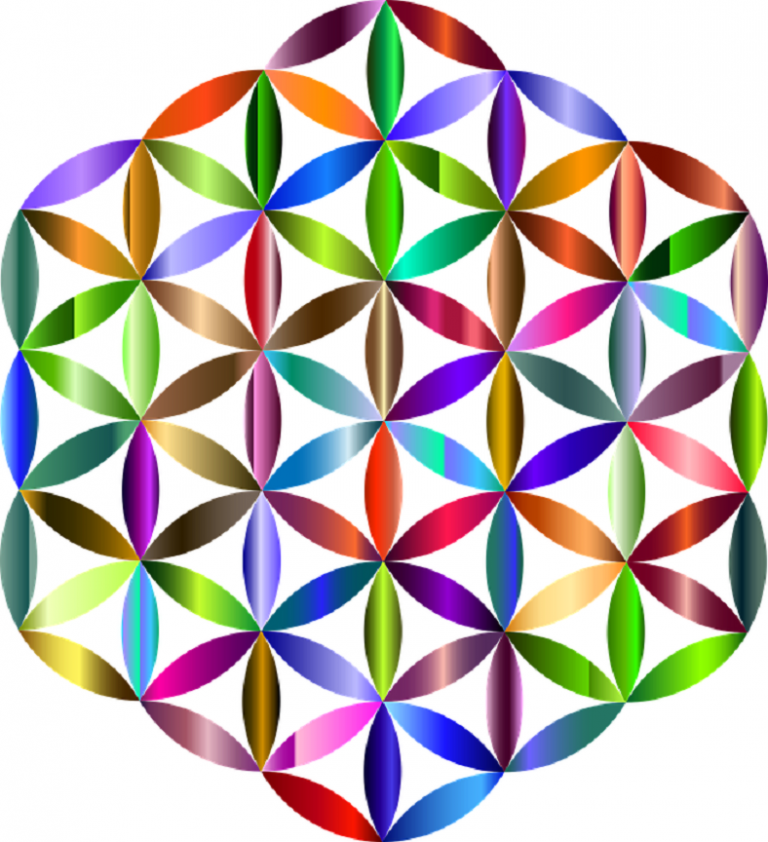 6 pointed star metatrons cube