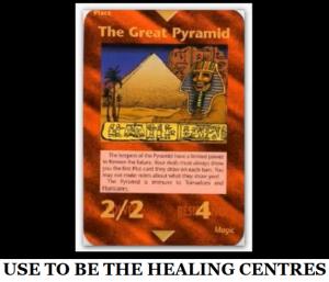 HEALING CENTRES