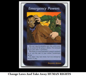 change laws emergency powers