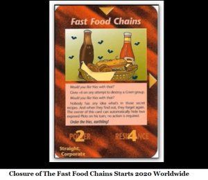 closure fast food chains