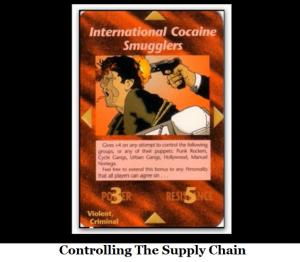 controlling the supply chain