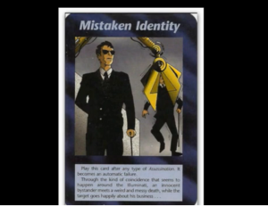 mistaken identty