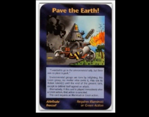 pave the earth