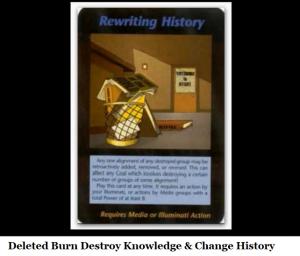 rewritting history