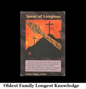 spear of loginus