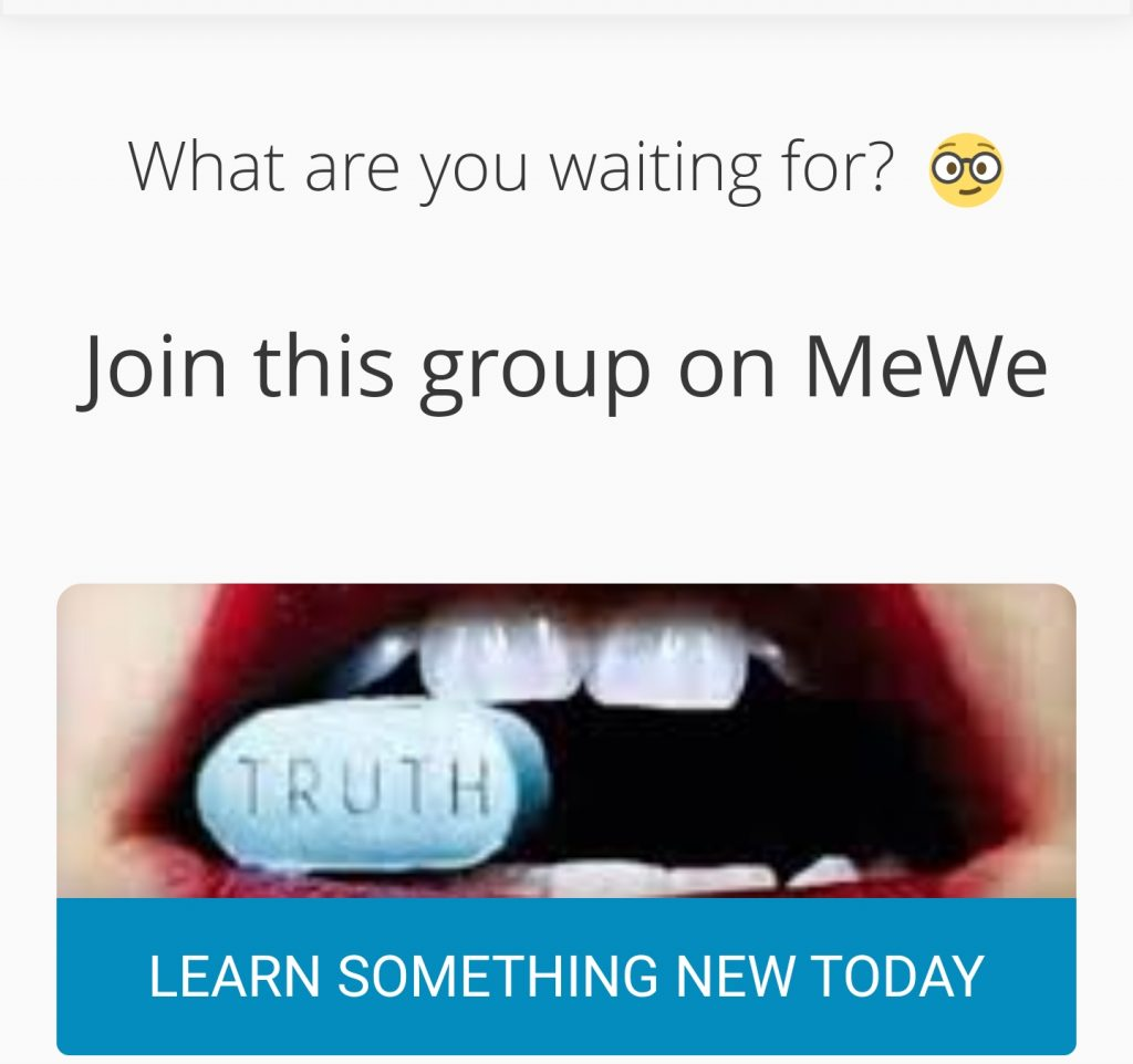 Moving To MeWe
