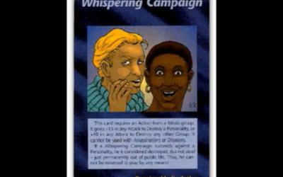 WHISPERING MEDIA ACTION